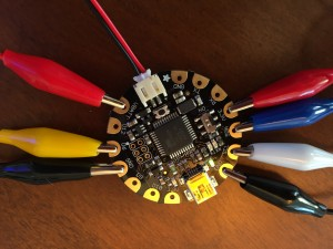 Flora arduino, optimized for wearable projects